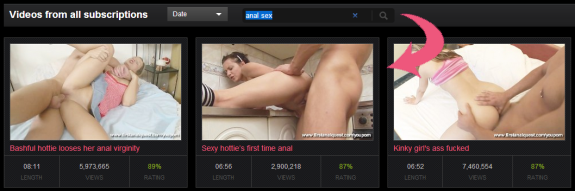 youporn search faves and subs