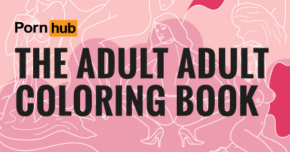 Pornhub Releases Adult Adult Coloring Book Official Youporn Blog